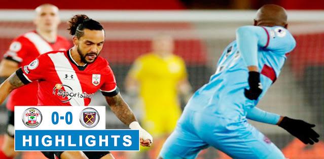 Southampton vs West Ham United – Highlights