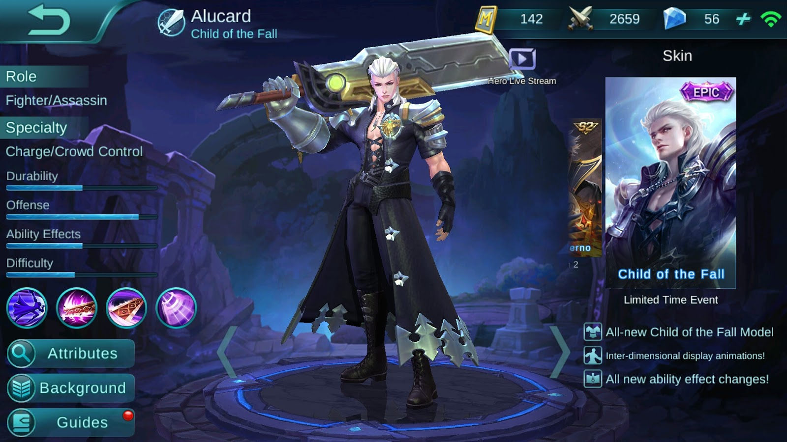 Wallpaper Mobile Legend Alucard Fiery Inferno Gudang Wallpaper