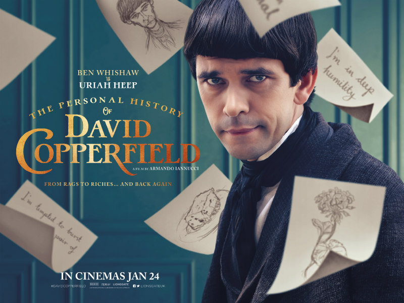 The Personal History of David Copperfield poster ben whishaw