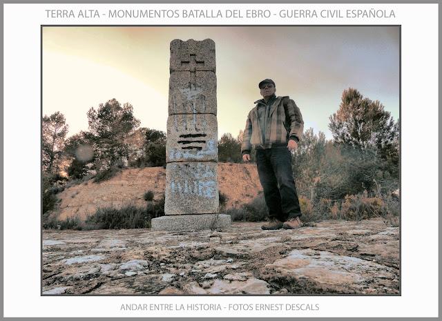 TERRA ALTA-LA FATARELLA-MONUMENTS-HISTORIA-BATALLA-EBRE-GUERRA CIVIL-ESPAÑA-FOTOS-VIAJEROS-ARTISTA-PINTOR-ERNEST DESCALS-