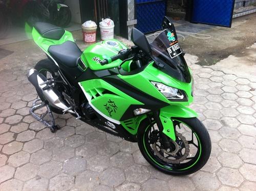 Kredit Kawasaki Ninja  Fi Adira