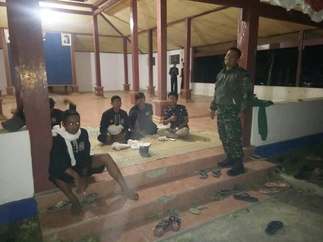 KodimKaranganyar - Babinsa Desa Harjosari Ajak Warga PSHT Untuk Tingkatkan Kamtibmas