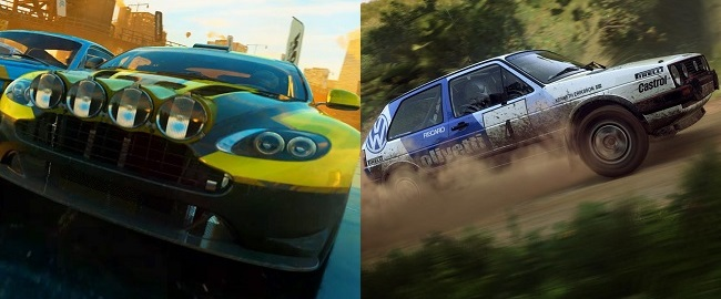 Similarities and changes in Dirt 5 vs Dirt Rally 2.0