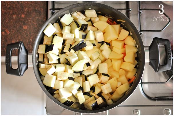 passo a passo sopa de legumes