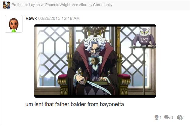 Professor Layton vs Phoenix Wright Ace Attorney Storyteller throne quill