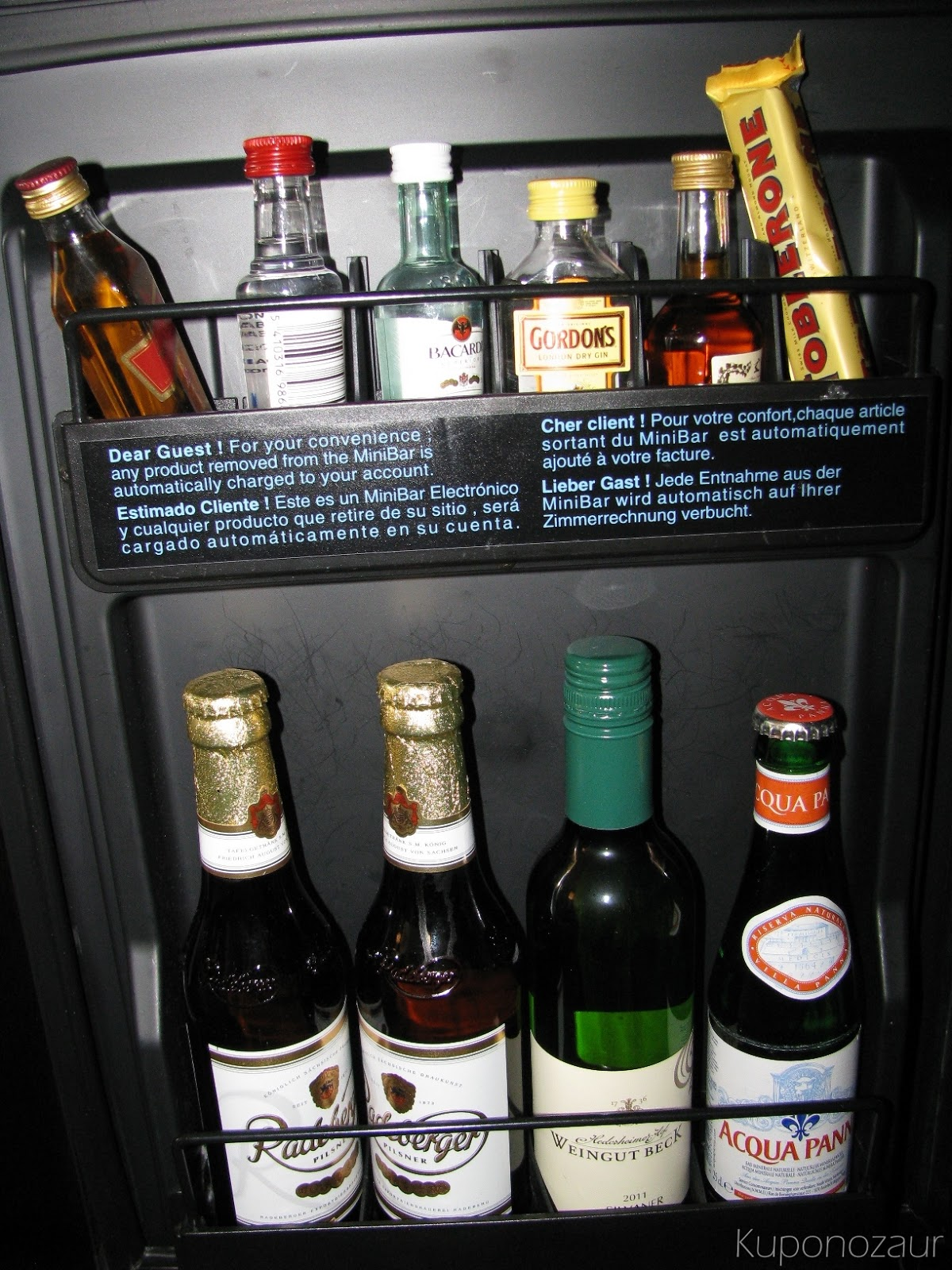 InterContinental Berlin minibar 3