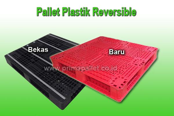 Jual Pallet Plastik Reversible Baru dan Bekas