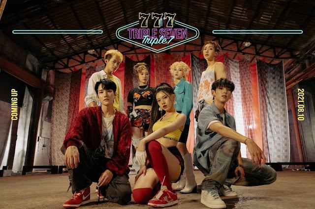 Triple7, el grupo mixto de B.I.G y 3YE, debuta con PRESENTE