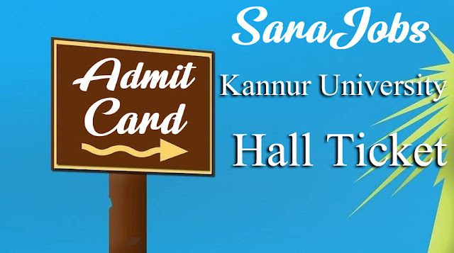 Kannur University Hall Ticket