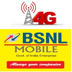 Activate BSNL ISD on prepaid or postpaid cell phone by sending SMS
