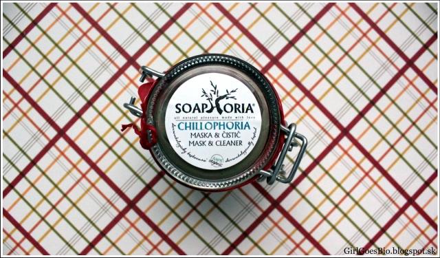 Soaphoria Chillophoria pletova maska a cistic na problematicku plet