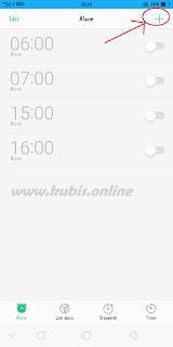 Cara Menggunakan dan Mengatur Nada Alarm Di HP Oppo