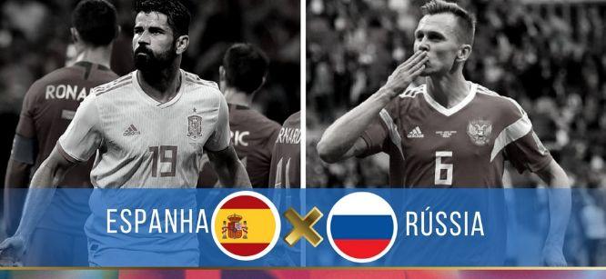 Assistir Jogo ESPANHA X RÚSSIA AO VIVO pela Copa do Mundo Rússia