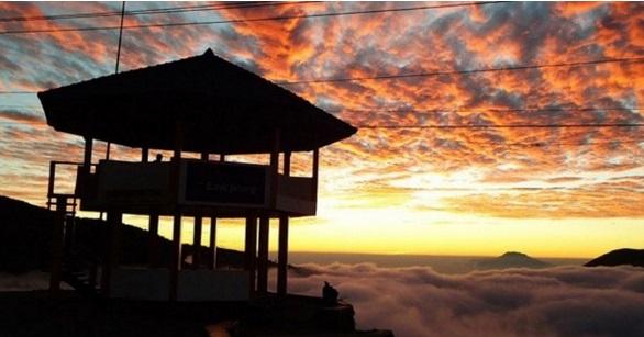 Tempat Wisata Wonosobo - Gardu Pandang Dieng