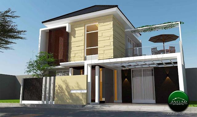 Rumah Siap Bangun jalan Purwomartani
