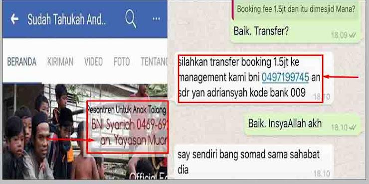 Viral Akun Palsu Penipuan Atas Nama Ustad Somad, Ini Klafikasi Manajemen Abdul Somad