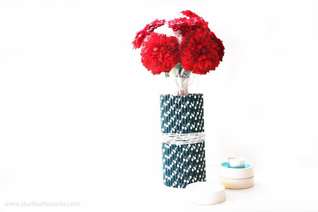 Give your vase a spring makeover / Studio Artesania DIY