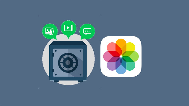 Hide photos and videos on iPhone/iPad