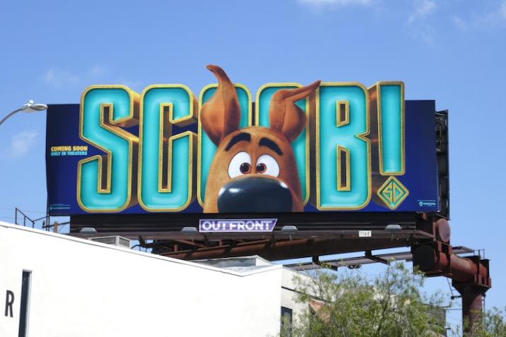 Scoob movie billboard