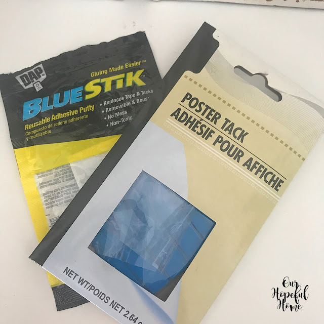 poster tack adhesive putty Blue Stik