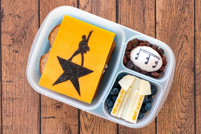 How to Make a Hamilton Musical Food Art School Lunch
