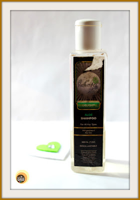 RUSTIC ART DELIGHT BIODEGRADABLE ALOE SHAMPOO
