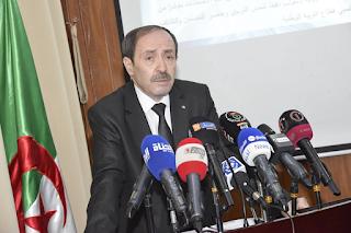 وزير التربية الوطنية على التلفزيون الجزائري – لقاء خاص- بعد نشرة الثامنة