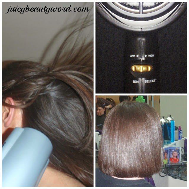 ionic blow dryer