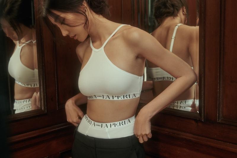 La Perla Comfort Zone Lookbook starring Jamilla Strand