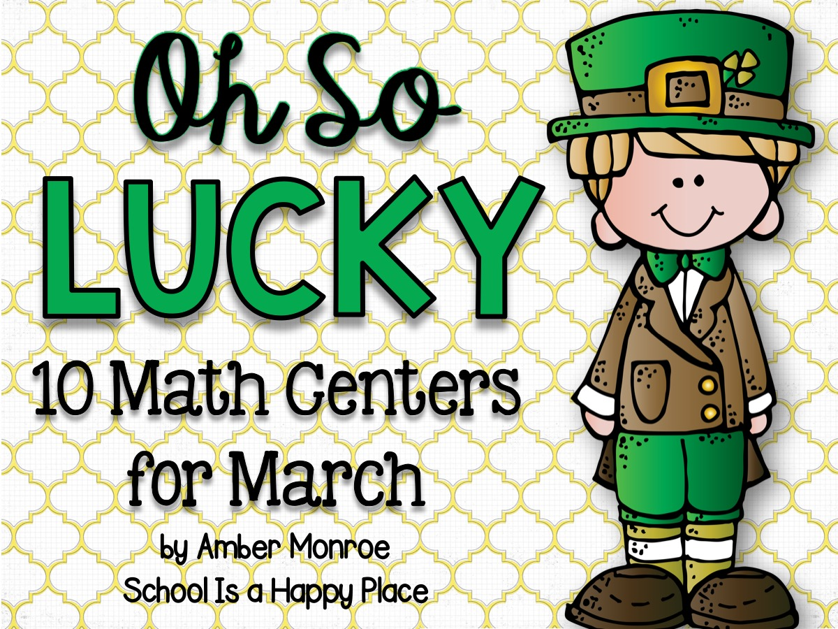Math Centers for March