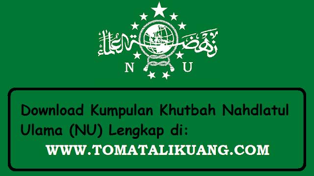 khutbah idul adha nu online nahdlatul ulama pdf tomatalikuang.com