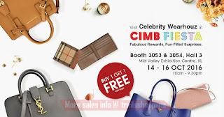 Celebrity Wearhouz CIMB Fiesta