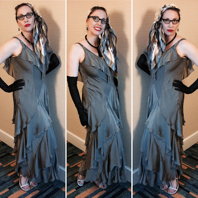 Miss Carriger At San Diego Comic Con 2017 as Silver Flapper