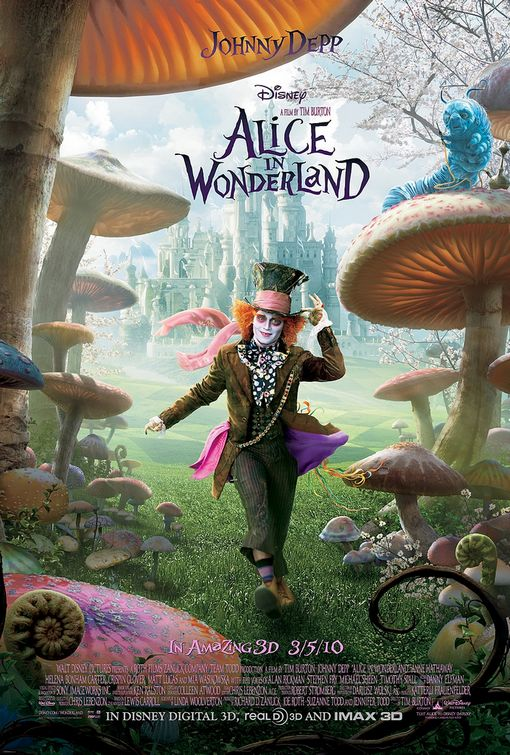 Alice Wonderland Mad Hatter poster
