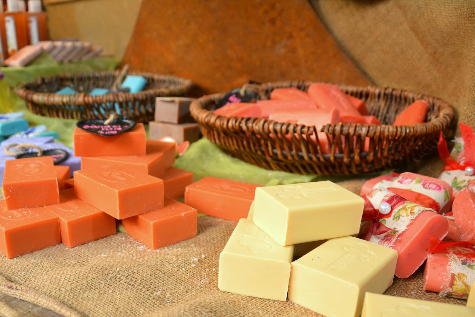 Selection of Scented Handmade Soaps