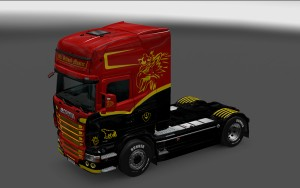 Old School Master Skin for Scania RJL