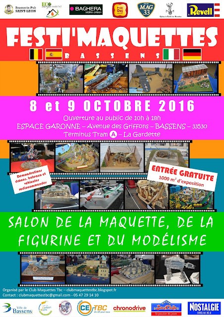 club maquettes bordeaux m tropole festi 39 maquettes 2016 8 et 9 octobre 2016. Black Bedroom Furniture Sets. Home Design Ideas