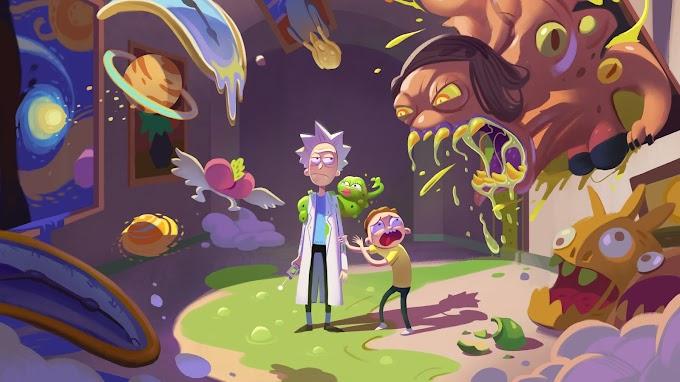 Papel de Parede Rick and Morty hd pc