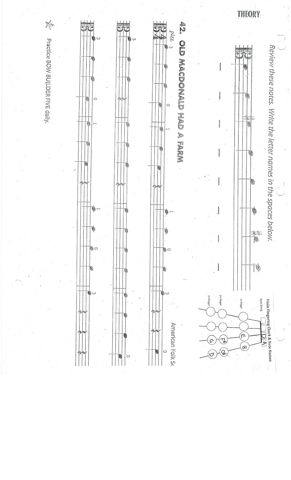 Workbooks violin note reading worksheets : Mrs. Daza's String Things