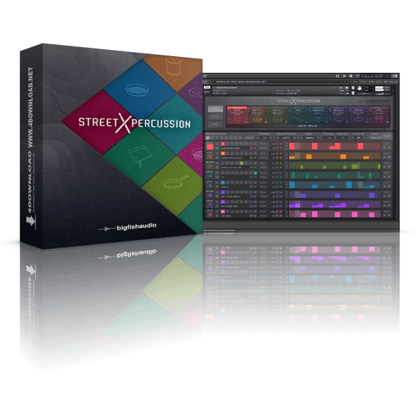 Big Fish Audio Street Percussion KONTAKT Library