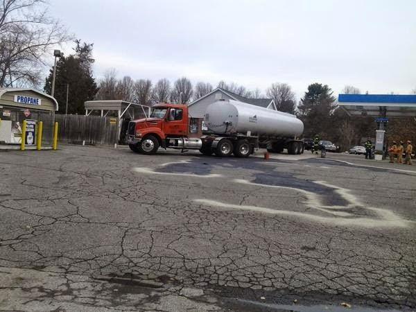 Train Derailment, Natural Gas Explosions, Tanker Truck And