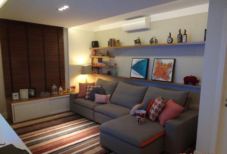 A casa da sheila salas pequenas e lindas for Salas pequenas 2016