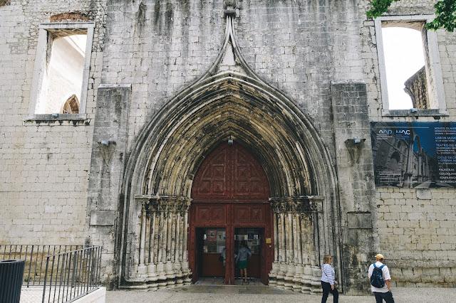 カルモ考古学博物館(Museu Arqueologico do Carmo)の外観