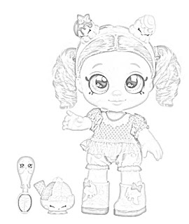 Kindi Kids Dolls Coloring Pages coloring.filminspector.com