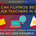 How Can Filipinos Become English Teachers in Spain