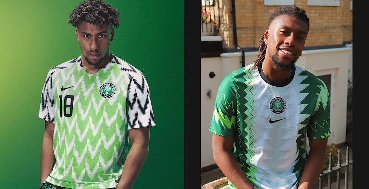 Escandaloso cama En marcha  In Detail | Nike Nigeria 2018 vs 2020 Home Kit - Footy Headlines