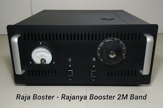 Booster 2 Meter Band 144Mhz menggunakan tabung