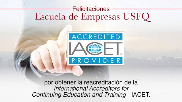 Reacreditación internacional de Escuela de Empresas USFQ