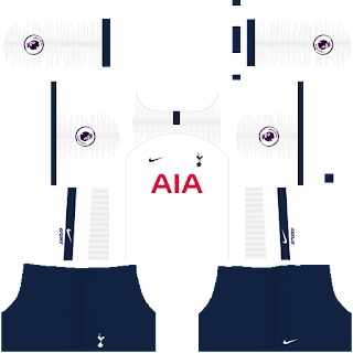 Tottenham dls fts Kits and Logo Tottenham dream league soccer 2020 , dream league soccer 2020 logo url