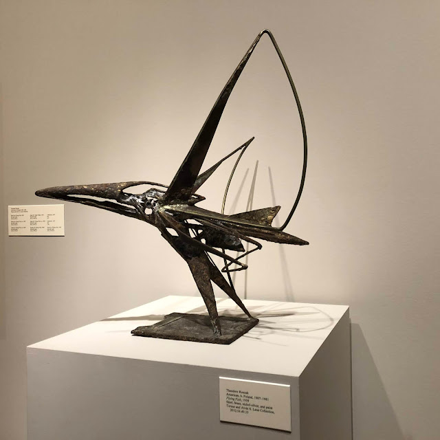 Flying Fish by Theodore Roszak at Chazen Museum of Art